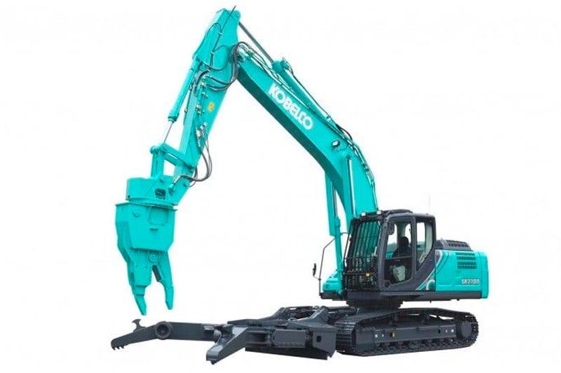 Rivemaskiner, Kobelco SK210D-10