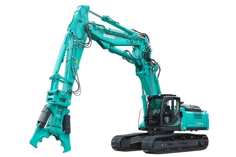 Rivemaskiner, Kobelco SK350D LC-10